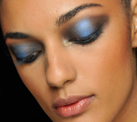 Blue Smokey Eyes