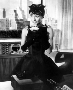odri mala crna haljina