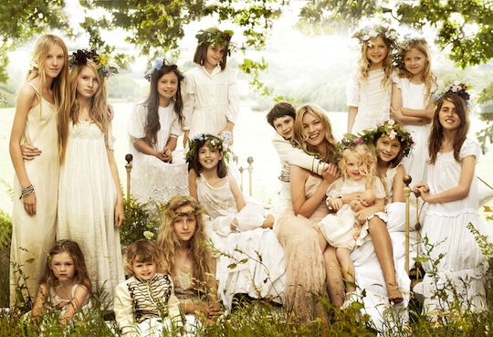 kate moss boho wedding