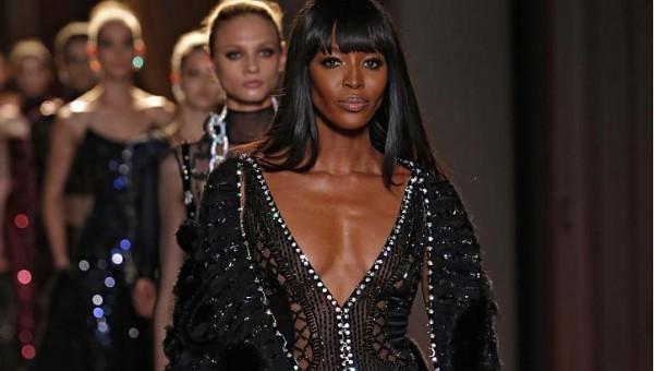 Naomi Campbell  Versace 2013