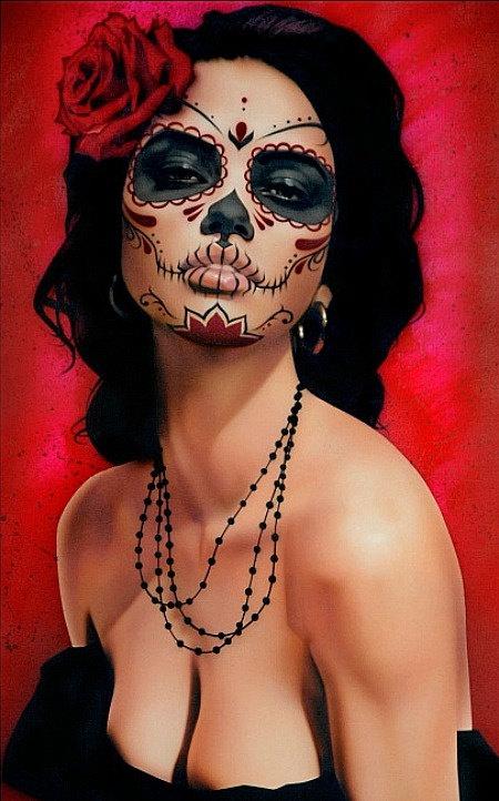 Halloween Is Nearly Here! Here are some amazing halloween makeup ...