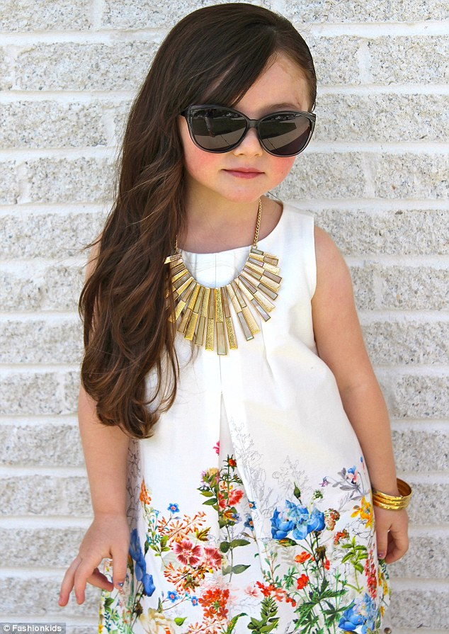 How Cute! Fashion Kids On Instagram With Nearly 1.3MILLION