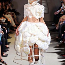 really weird wedding dress