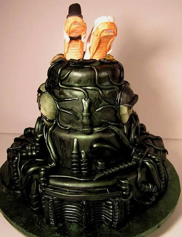 Unusual or Traditional Wedding Cake Female Fatal