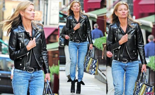 Celebrity Street Style: Kate Moss!