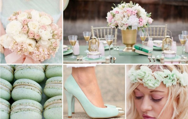 Glamorous Mint & Gold Wedding Inspiration!