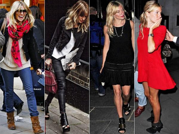 Celebrity Street Style: Sienna Miller!