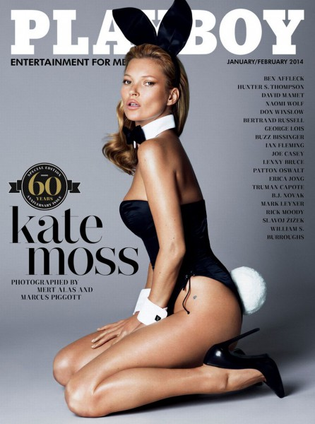 Playboy's 60th Anniversary Cover – Kate Moss ! PHOTOS