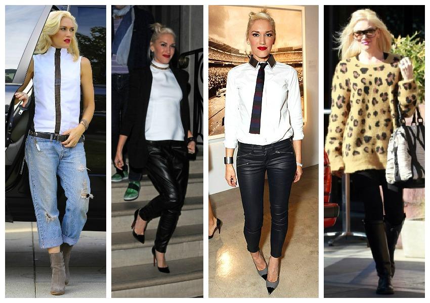 Celebrity Street Style Gwen Stefani Female Fatal