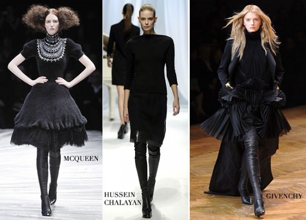 Look Seductive Like Female Fatal! Wear Over-the-Knee Boots!