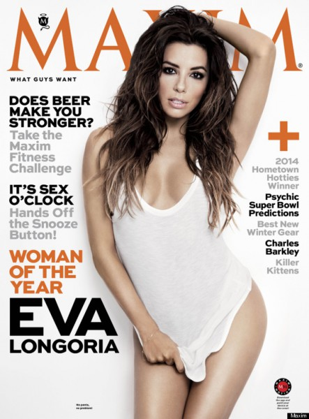 Maxim Cover 2014